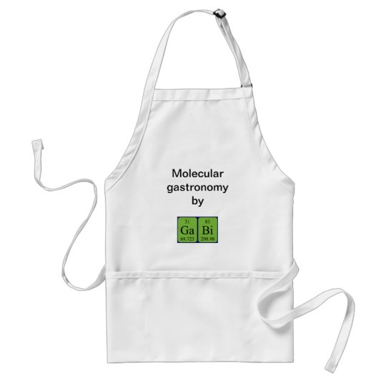 Gabi periodic table name apron