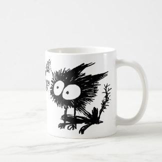 GabiGabi Sitting Classic White Coffee Mug