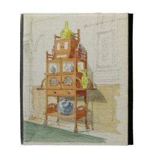 Gabinete de la exposición, c.1860s-70s (w/c y lápi