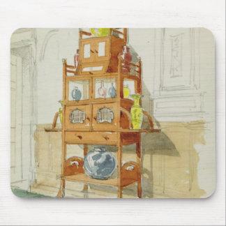 Gabinete de la exposición, c.1860s-70s (w/c y lápi alfombrillas de raton