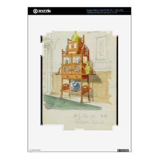 Gabinete de la exposición, c.1860s-70s (w/c y lápi iPad 3 pegatinas skins