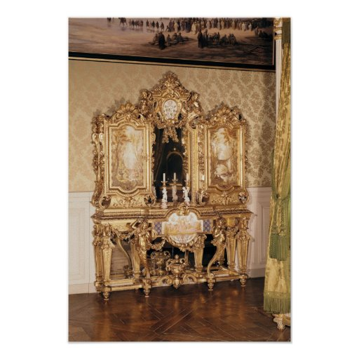 Gabinete de la joyería poster