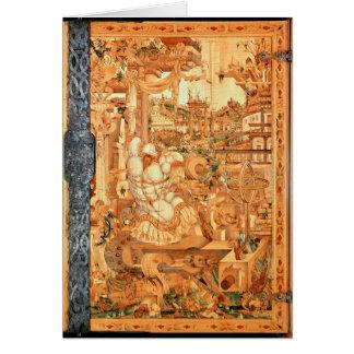 Gabinete de Wrangelschrank, 1566 Tarjeta De Felicitación