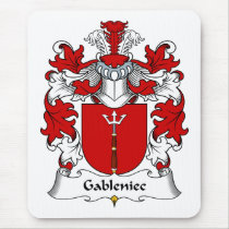 Gableniec Family Crest Mousepad