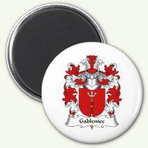 Gableniec Family Crest Magnet