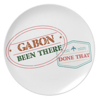 Gabon Been There Done That Dinner Plate