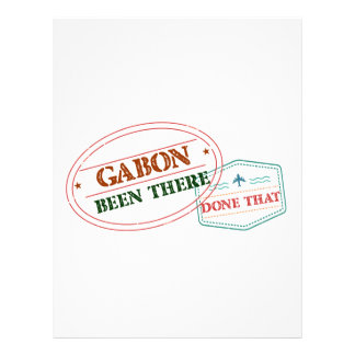 Gabon Been There Done That Letterhead
