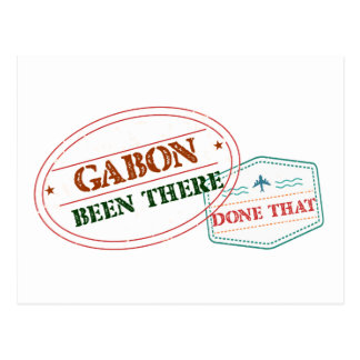 Gabon Been There Done That Postcard