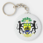 Gabon Coat of Arms detail Key Chain