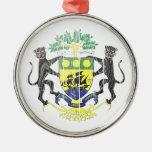Gabon Coat Of Arms Ornaments