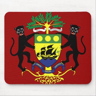 gabon emblem mousepads
