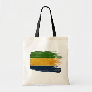 Gabon Flag Canvas Bags