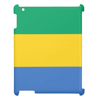 Gabon Flag Cover For The iPad
