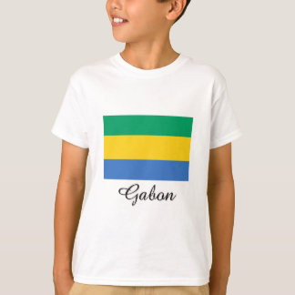 Gabon Flag Design T-Shirt