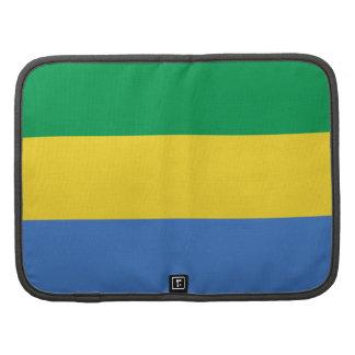 Gabon Flag Folio Organizer
