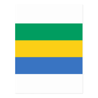 Gabon flag postcards zazzle gabon flag ga gabonese republic postcard sciox Gallery