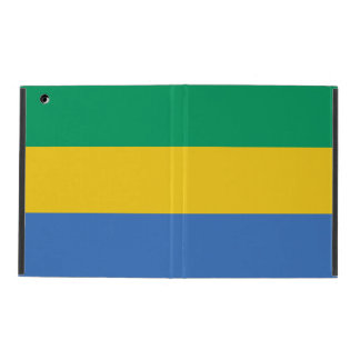 Gabon Flag iPad Case