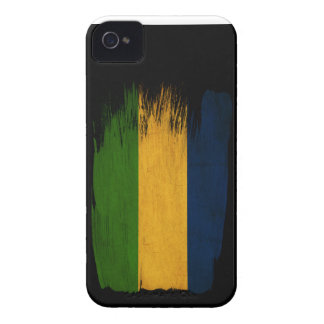 Gabon Flag iPhone 4 Case