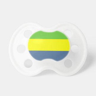 Gabon Flag Pacifier