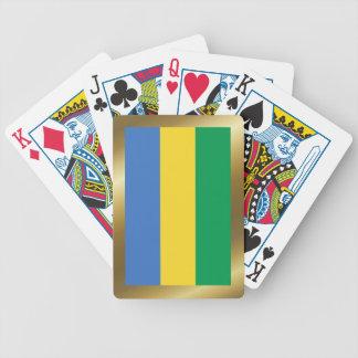 Gabon Flag Playing Cards