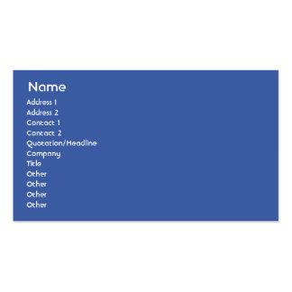 Gabón - negocio tarjeta de visita