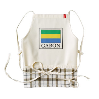 Gabon Zazzle HEART Apron