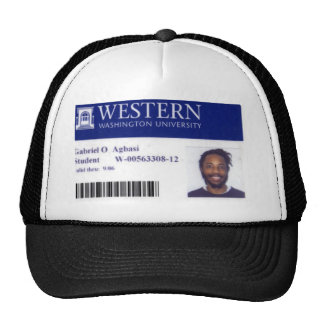 gabriel agbasi trucker hat