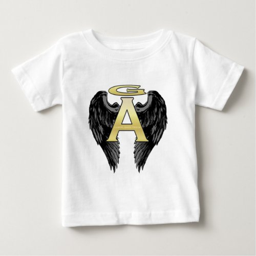 Gabriel Angel Design Wings Logo Baby T_Shirt
