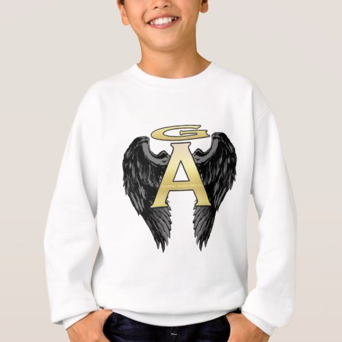 Gabriel Angel Design Wings Logo Sweatshirt