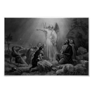Gabriel Announcing The Birth Of Jesus Poster