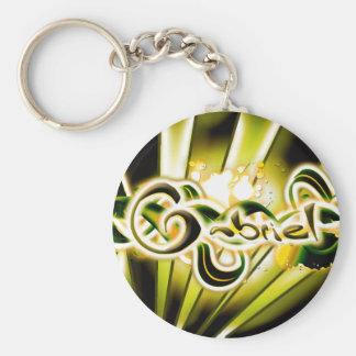 Gabriel Basic Round Button Keychain