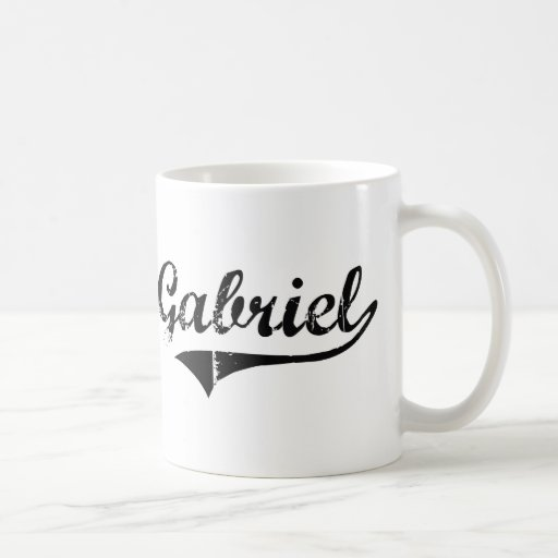 Gabriel Classic Style Name Coffee Mug
