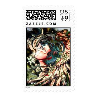 Gabriel Closeup Dusk Postage Stamps