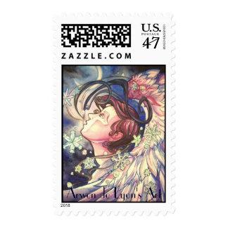 Gabriel Closeup Stamp