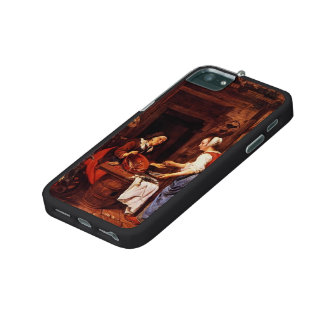 Gabriel Metsu- An Old Woman Selling Fish iPhone 5/5S Covers