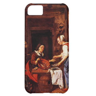 Gabriel Metsu- An Old Woman Selling Fish iPhone 5C Covers