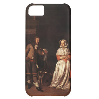 Gabriel Metsu- The Huntsman and the Lady iPhone 5C Cases