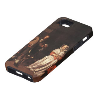 Gabriel Metsu- The Huntsman and the Lady iPhone 5 Cover