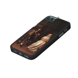 Gabriel Metsu- The Huntsman and the Lady iPhone 5/5S Cases
