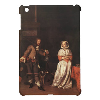 Gabriel Metsu- The Huntsman and the Lady iPad Mini Case