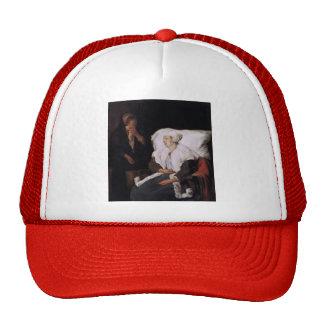 Gabriel Metsu- The Sick Girl Hats