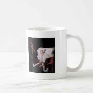 Gabriel Metsu- The Sick Girl Coffee Mugs