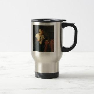 Gabriel Metsu- The Tippler (The Wine Drinker) Coffee Mugs