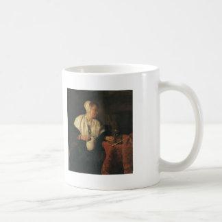 Gabriel Metsu- The Tippler (The Wine Drinker) Mug