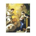 Gabriel Predicts Jesus' Birth Canvas Print