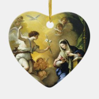Gabriel Predicts the Birth of Jesus Ornament