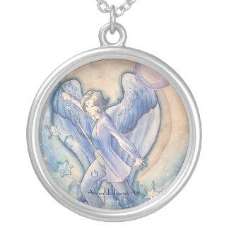 Gabriel Round Pendant Necklace