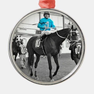 Gabriel Saez-Foxhall Drive Metal Ornament