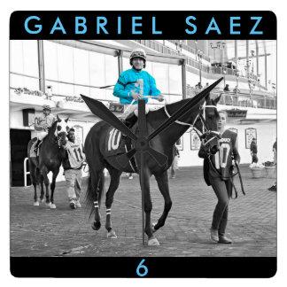 Gabriel Saez-Foxhall Drive Square Wall Clock