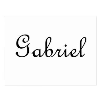 Gabriel Tarjeta Postal